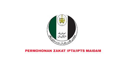 Permohonan Bantuan Zakat IPTA/IPTS MAIDAM 2019