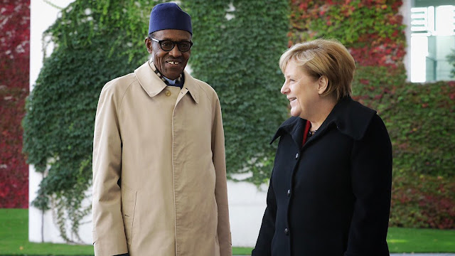President Muhammadu Buhari is currently in Germany to confer with the German Chancellor Angela Merkel