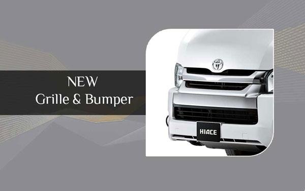 Exterior New Toyota Hiace