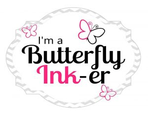 Butterfly Reflections Ink GDT