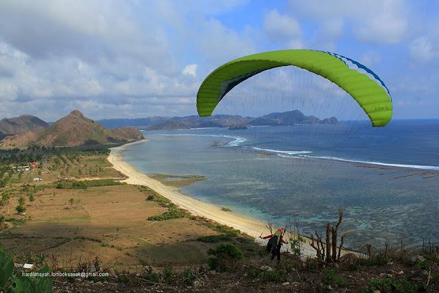Bukit Torok, Spot Paralayang Lombok Sumbawa
