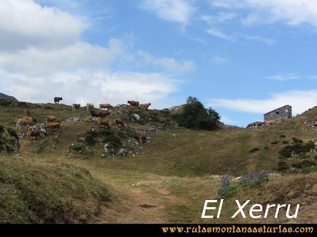 Ruta Ventaniella, Ten y Pileñes: El Xerru