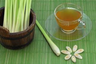 té de hierba de limón