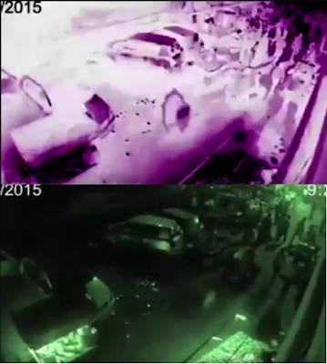 fantasma aparece em video