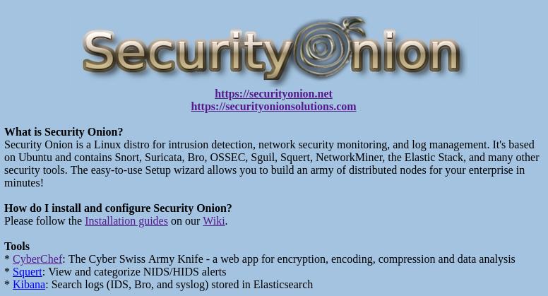 Security Onion: February 2018