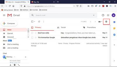 Tanda tangan Gmail