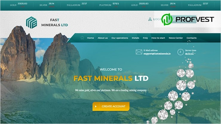 Fast Minerals LTD обзор и отзывы HYIP-проекта