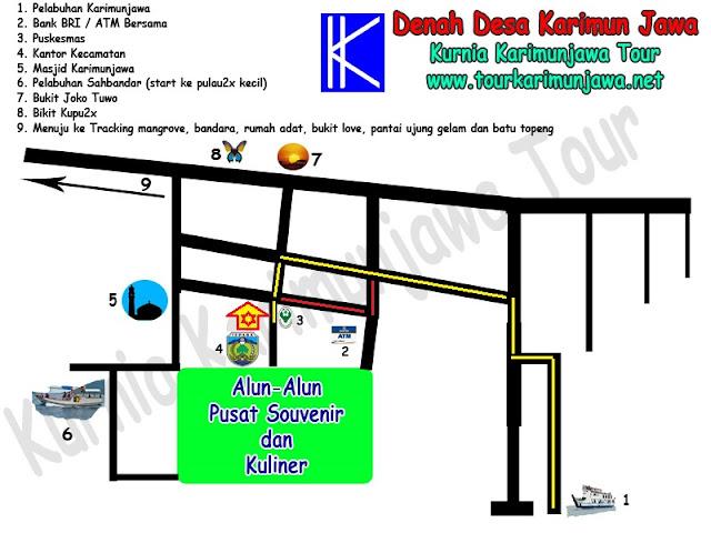 lokasi homestay hiu Karimun Jawa