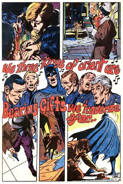 Batman v1 #219 dc comic book page art by Neal Adams