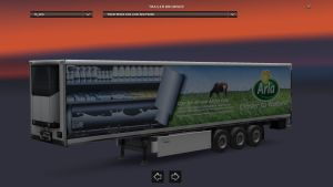 Krone Arla Foods Trailer [Updated]