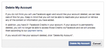 How To Delete My Facebook Account