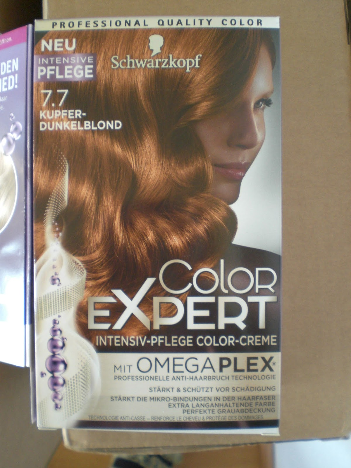 Expert erfahrung color dunkelblond Schwarzkopf Professional