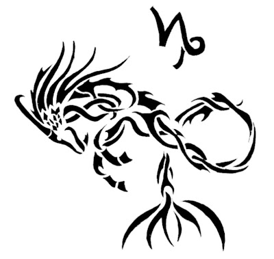 Tatoo Zodiak Capricorn