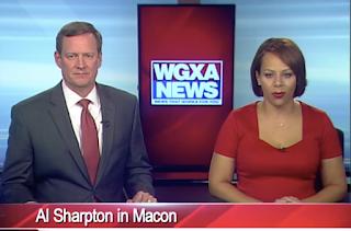 Reverend-huckster Al Sharpton smells a Charlottesville profit