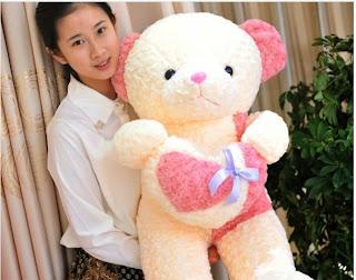 Boneka beruang love 27