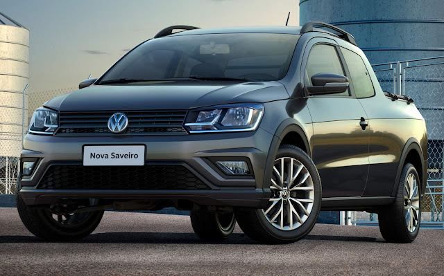 VW Saveiro Trendline 2017
