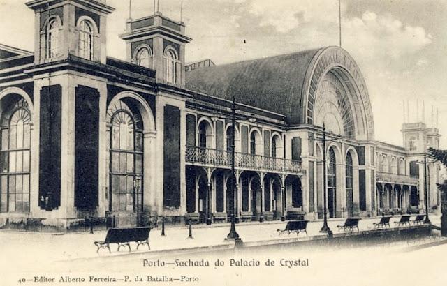 Antigo Palácio de Cristal no Porto