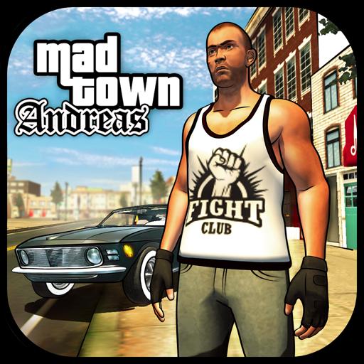 تحميل لعبه Mad Town Mafia Storie v1.19 مهكره نقود لا نهايه للاندرويد