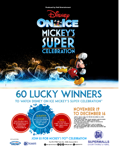 60 lucky winners scratch their way to 'Disney On Ice'