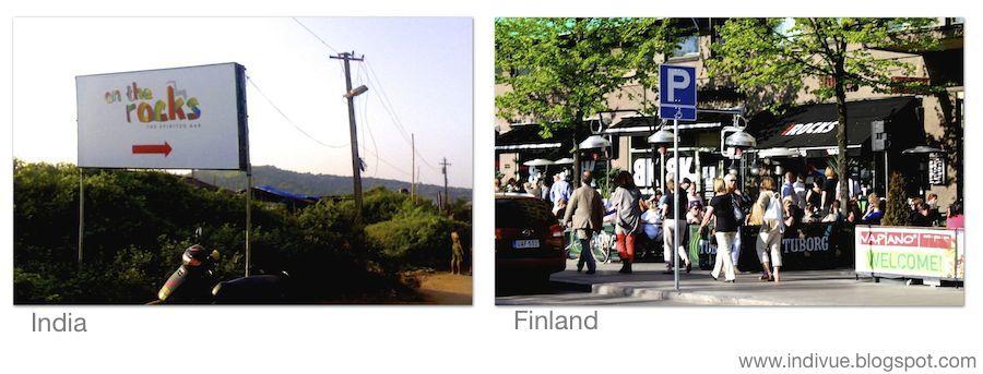 On the Rocks Suomessa ja Intiassa