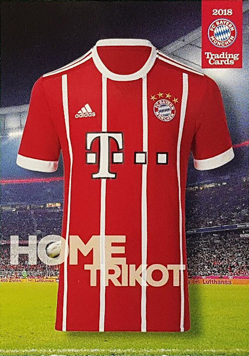 Football Cartophilic Info Exchange  Panini (Germany) - FC Bayern München  2018 Trading Cards (02) - Checklist be297305f