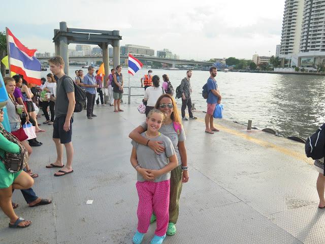 Embarcadero en Bangkok