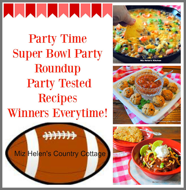 Super Bowl Party Roundup at Miz Helen's Country Cottage