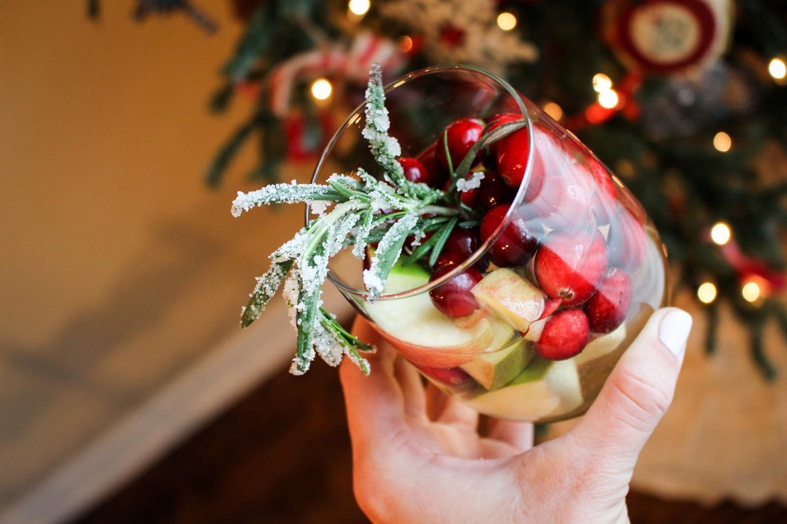 white christmas sangria recipe