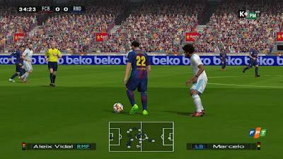 PES 6 La Liga Santander Mod & Scoreboard by Sharp87