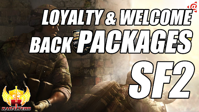 Received 5 Permanent Items In Playpark's SF2 Loyalty & Welcome Back Packages