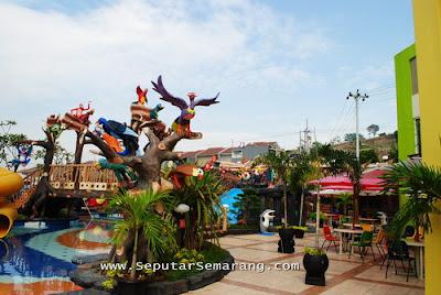 akcayatour, Jungle Toon Water Park, Travel Malang Semarang dan Travel Semarang Malang, Wisata Semarang