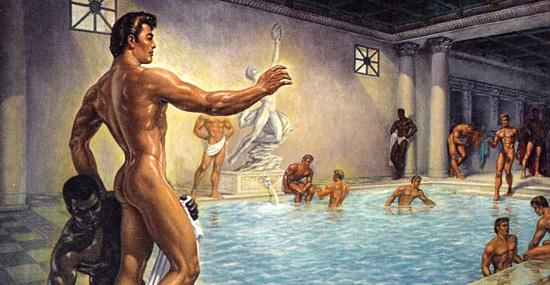 Banho ou Terma romana