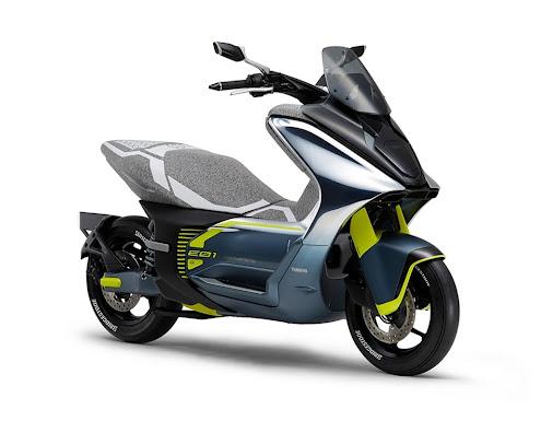 Yamaha đăng ký nhãn hiệu xe tay ga điện 125cc mới, từ concept tiến tới sản xuất