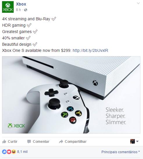 Microsoft satiriza playstation 4 Pro nas redes sociais