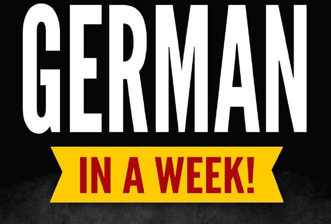 حصرياُ كتاب الألمانية في أسبوع