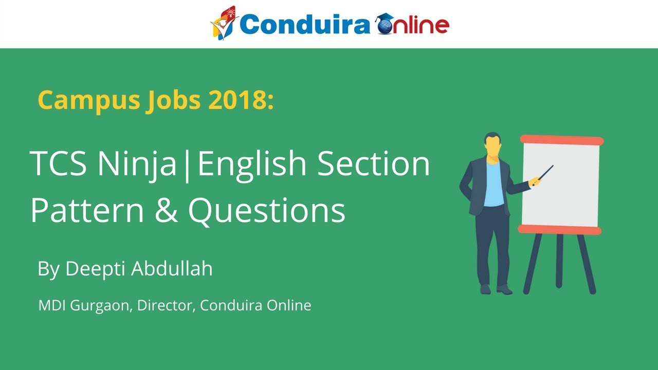 Explained] TCS Ninja test English questions and answers PDF - Matterhere