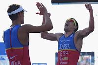 TRIATLÓN (Series Mundiales 2016) - Doblete español liderado por el tercer oro de Mario Mola. Helen Jenkins aguó el estreno de Jorgensen