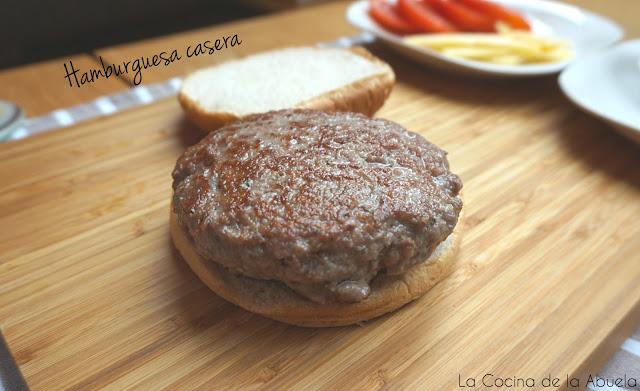 Hamburguesa casera, como preparar tu carne para hamburguesas.