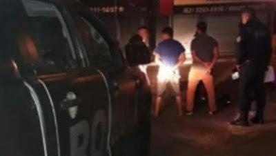 ROMU de Goiânia (GO) detém elemento acusado de tráfico internacional de drogas