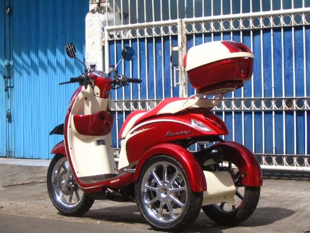 Kumpulan Modifikasi Motor Honda Scoopy Terbaru