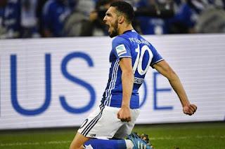 ثنائية نبيل بن طالب ضد ماينز 05 بتعليق محمد الكواليني في الدوري الألماني .