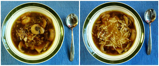 Carolina Sauce Company: Low Carb Recipe: Faux French Onion Soup (aka Mushroom & Garlic Soup)