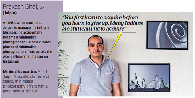 Featured by Economic Times India for Minimalist Photography