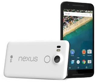 Hp Android LG Koneksi 4G LTE LG Nexus 5X