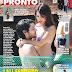 """Lali Espósito y su novio ya no ocultan su pasión en la tapa de la revista """"Pronto"""""""