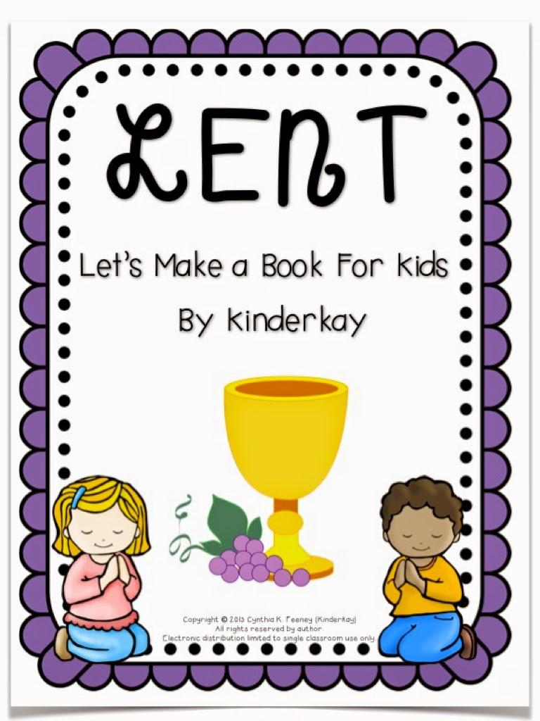 Lent for little kids and an ash wednesday freebie love those kinders httpsteacherspayteachersproductlenten book biocorpaavc