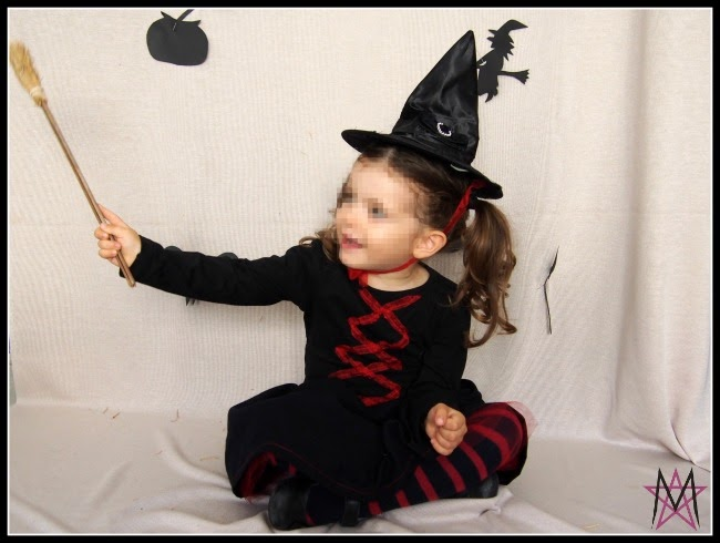 Girls Witch Costume Idea