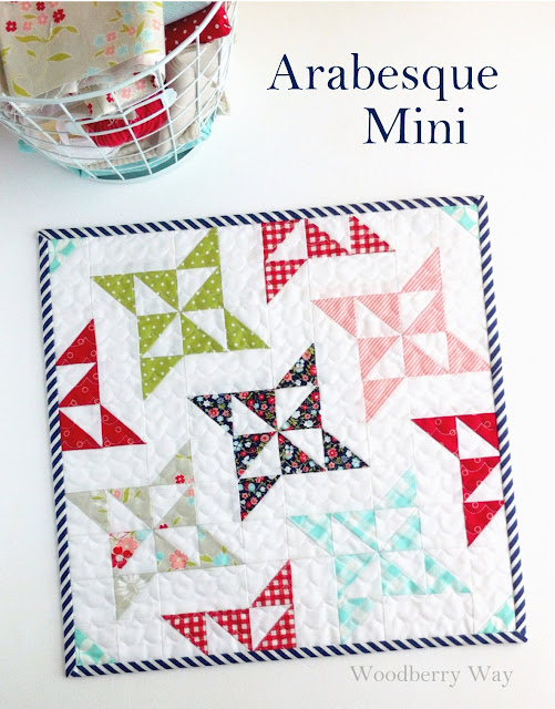 Arabesque Mini Quilt