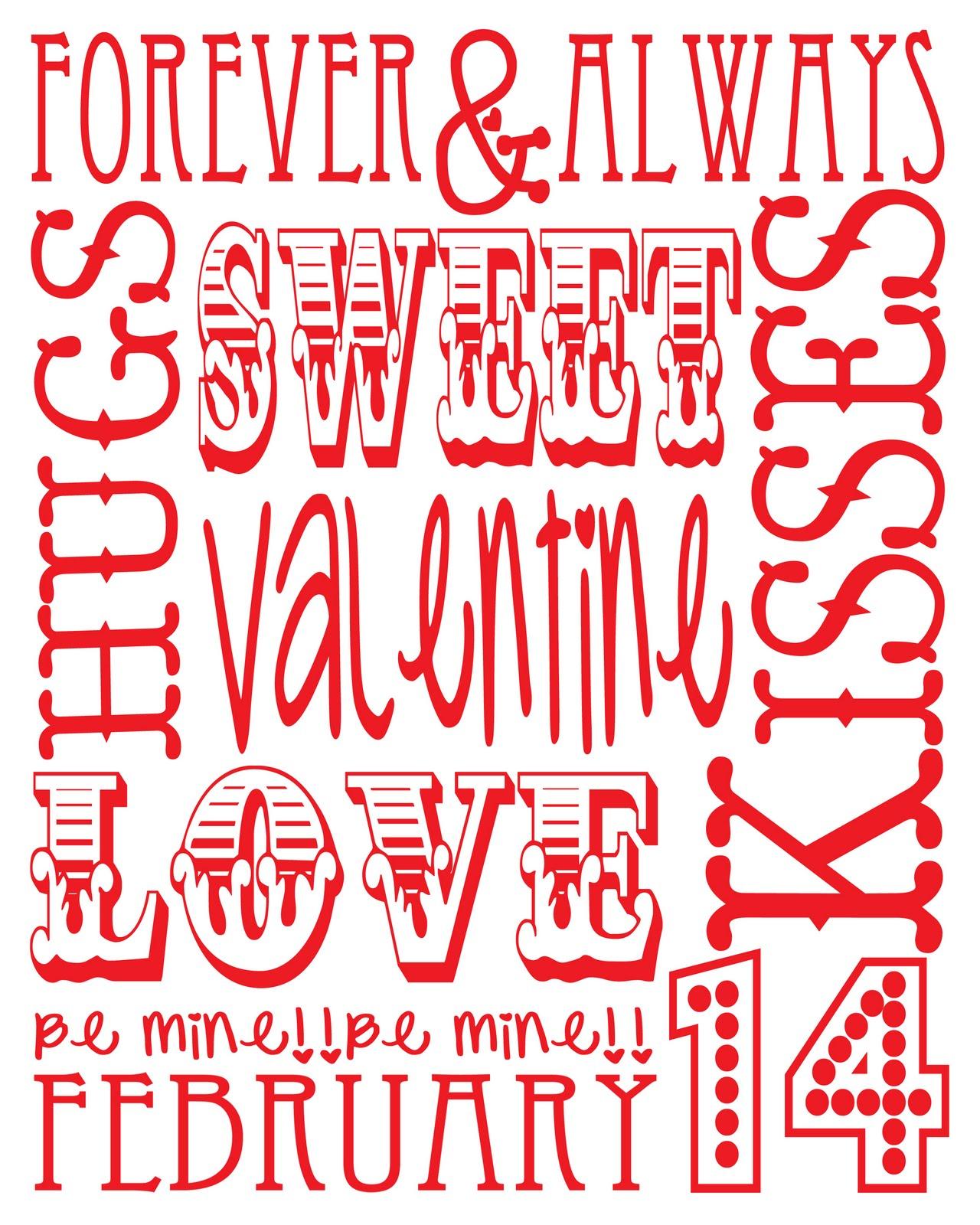 Living Vi Life Valentines Subway Art Ee Printable