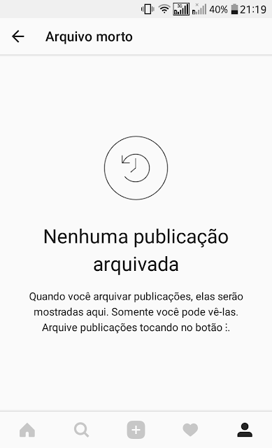 Novo recurso do Instagram permite esconder fotos antigas